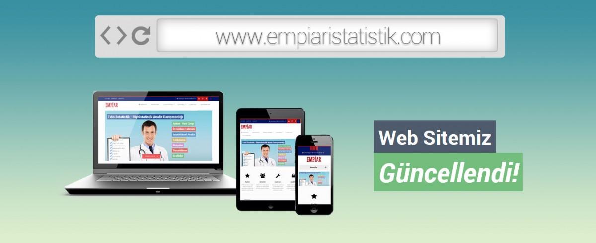 web sitemiz güncellendi